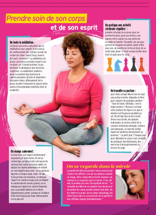 """""""Bien dans son âge"""", le dernier article d'Alice dans le Magazine VISU"""